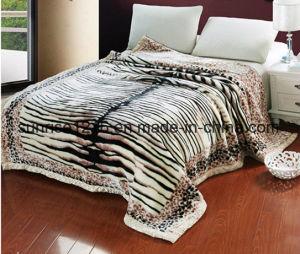 High Quality Mink Blanket Sr-B170214-7 Printed Mink Blanket Solid Mink Blanket pictures & photos