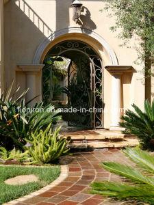 European Luxury Wrought Iron Garden Gates pictures & photos