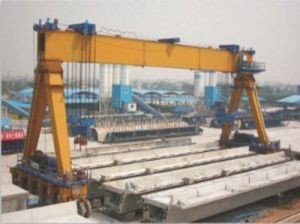 Single Girder Straddle Carrier with SGS pictures & photos