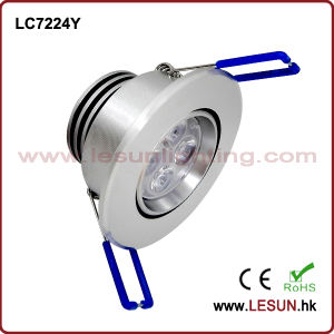Recessed 5W LED Under Cabinet Light/Ceiling Light LC7224y pictures & photos