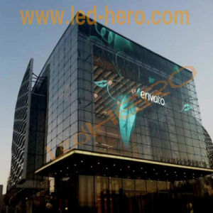 Fshion Glass/Transparent LED Display High Brightness for Window/Building Video Wall pictures & photos