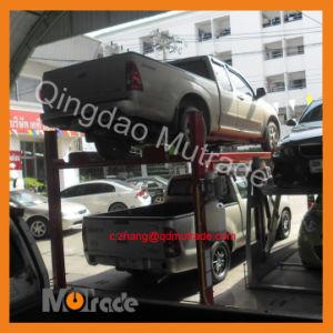 Automobile Simple Stable Four Columns Parking Lift pictures & photos