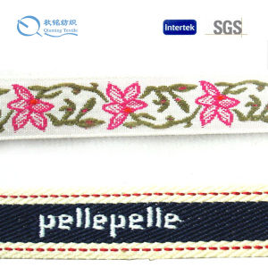Factory Supply Fashionable Eco-Friendly and High Quality Jacquard Webbing pictures & photos