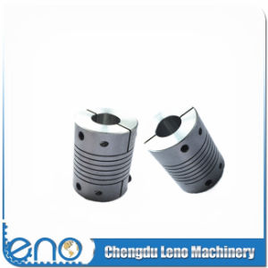 Aluminum Flexible Shaft Clamp Type Helical Beam Couplings