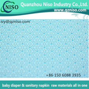 Feminine Pads Topsheet Raw Materials with Perforated Hydrophilic Nonwoven (LS-T63) pictures & photos