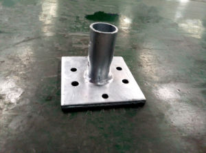Scaffolding Tube Base Plate for Sale pictures & photos
