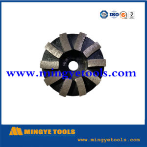 100mm 5 Arrow Segments Diamond Cup Wheel for Stone pictures & photos