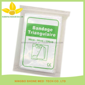 Medical Non Woven Triangular Bandages pictures & photos