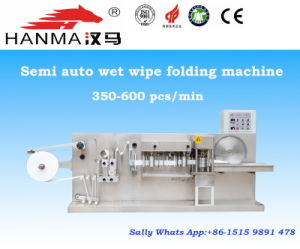 Semi Auto Wet Wipe Folding and Making Machine for 5-30 Pieces Per Pack (HM-180)