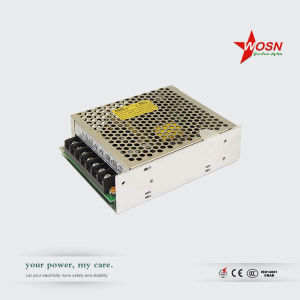 T-50 Series 85-264VAC to 5/15/-15VDC 50W Triple Output SMPS, Switching Power Supply pictures & photos