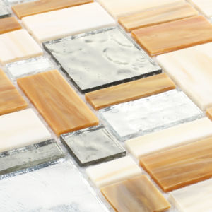 Wholesale Building Material Kitchen Backsplash Tile Stained Glass Mosaic pictures & photos