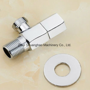 Brass Angle Valve Plumbing Fittings pictures & photos