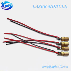 Wholesale High Quality 520nm 5MW Green DOT Laser Module pictures & photos