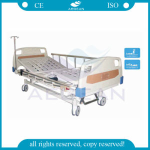 AG-Bm201 Operation Hospital Ward Room Adjustable Beds 2-Function pictures & photos