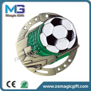 China Medal Factory Make Sport Foodball Medal Award Metal Medal pictures & photos