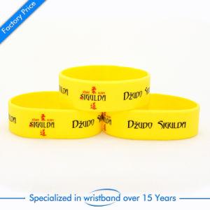 Customized Soft Enamel Bracelet Wrist Band pictures & photos