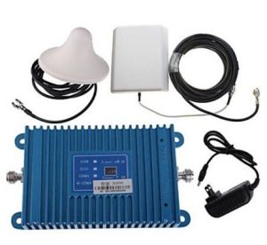 Intelligence LCD Display 3G990 2100MHz Mobile Cell Phone Signal Booster Amplifier + Antenna Kit pictures & photos