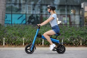 36V Panasonic Lithium Battery 12 Inch Mini Folding Electric Bike pictures & photos