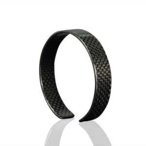 Factory Discount Price Fashionable Carbon Fiber Bracelet Wristband Bracelets with High Quality pictures & photos