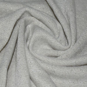 190GSM Cotton/Polyester/Lurex Loop Fabric for Clothing pictures & photos