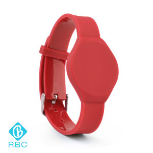 RFID Silicone Band 13.56MHz Mf Ultralight 1k Wristband/Bracelet pictures & photos