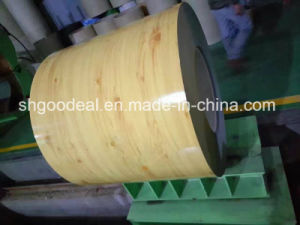Wooden Grain Prepainted Steel Coils PPGI From Shandong Yehui Factory pictures & photos