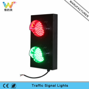 Parking Lots Customized 125mm Red Green LED Traffic Signal Light pictures & photos