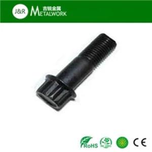 Grade 10.9 Black Oxide 12 Point Flange Bolt (ANSI DIN) pictures & photos