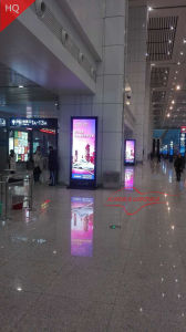 High End LED Poster, Indoor LED Display, Suitable for Airport, Railway Station, Shopping Malls & Other Public Areas pictures & photos