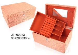 Fashion Design Customized Original Leather Jewelry Box pictures & photos