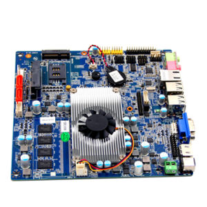 Intel Celeron 1037u Firewall Motherboard with 4*USB Ports pictures & photos