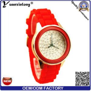 Yxl-184 Women Casual Wholesale Promotional Wrist Watches, Ladies Quartz Watch Diamond Silicone Casual Watch Women pictures & photos