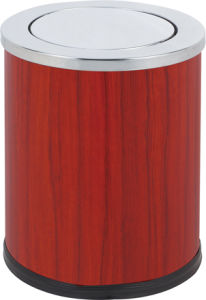 Hot Selling Small Dust Bin with Flip (KL-52B) pictures & photos