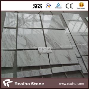 Polished Greece Volakas White Marble Wall Tiles pictures & photos