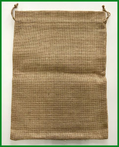 Eco-Friendly Jute Rice Bag for Packing 5kg pictures & photos