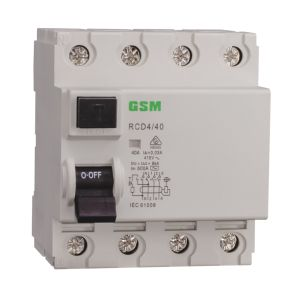 Residual Current Circuit Breakers RCCB Gsl1 (ID) -63 4p pictures & photos