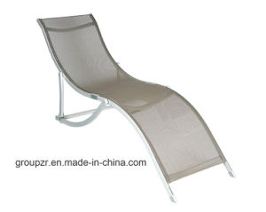 Outdoor Leisure Folding Textilene Sunbed Beach Chair pictures & photos