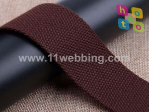 Polyester Cotton Colored Webbing (Spot goods) pictures & photos