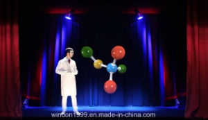 Pepper Ghost 3D Hologram Projector System Holographic Musion Foil pictures & photos