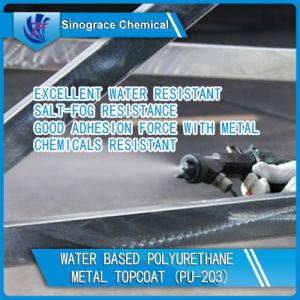 Good Abrasion Resistant Polyurethane Metal Topcoat pictures & photos