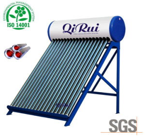 Vacuum Tube Solar Water Heater Aquecedor Solar Vacuo pictures & photos