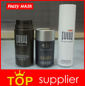 18 Colors Fully Keratin Hair Building Fibers for Hair Loss Thickening pictures & photos