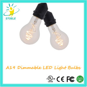 A19/A60 3W New Design LED Filament Bulb Whosale Lamp pictures & photos