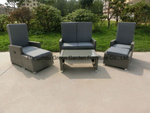 Gas Recliner Set Adjustable Sofa with Stool pictures & photos