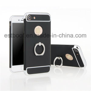3 in 1 with Metal Ring Hard Shell Phone Case pictures & photos