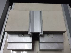 Flexible Snap-Fit Interlocking Aluminum Expansion Joint System for Floor pictures & photos