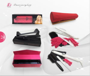 2 in 1 Red/White Professional Salon Hair Blow Dryer with Brush pictures & photos