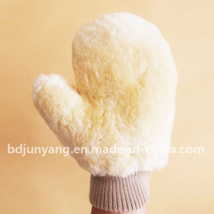 Superior Quality Wholesale Wool Cleaning Glove Wash Mitt pictures & photos