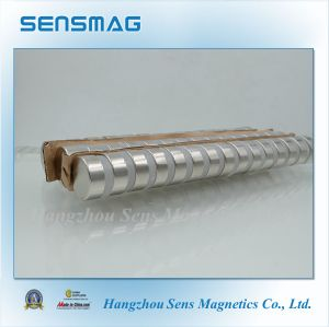 N55 Perfect Powerful Permanent Neodymium NdFeB Cylinder Magnet for Generator pictures & photos