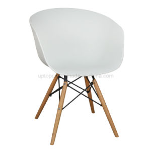 Famous Design European Imported Beech Wood Plastic Round Chair (SP-UC518) pictures & photos